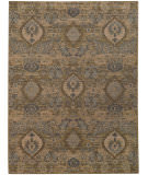 RugStudio presents Sphinx By Oriental Weavers Heritage 4925w Ivory / Blue Machine Woven, Good Quality Area Rug