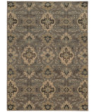 RugStudio presents Sphinx By Oriental Weavers Heritage 8028e Blue / Ivory Machine Woven, Good Quality Area Rug