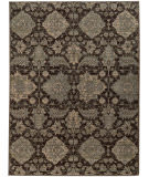 RugStudio presents Sphinx By Oriental Weavers Heritage 8124n Charcoal / Blue Machine Woven, Good Quality Area Rug