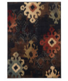 RugStudio presents Sphinx By Oriental Weavers Hudson 4874b Black Machine Woven, Good Quality Area Rug