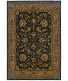 RugStudio presents Sphinx By Oriental Weavers Infinity 1104f Black/Tan Machine Woven, Good Quality Area Rug