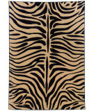 RugStudio presents Rugstudio Sample Sale 58213R Beige/Black Machine Woven, Better Quality Area Rug