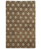 RugStudio presents Tommy Bahama Maddox 56504 Brown Hand-Knotted, Good Quality Area Rug
