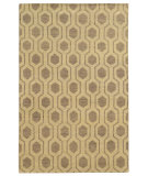 RugStudio presents Tommy Bahama Maddox 56505 Beige Hand-Knotted, Good Quality Area Rug