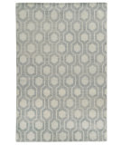 RugStudio presents Rugstudio Sample Sale 110261R Blue Hand-Knotted, Good Quality Area Rug