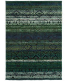 RugStudio presents Sphinx By Oriental Weavers Nomad 8123g Green / Blue Machine Woven, Best Quality Area Rug