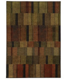 RugStudio presents Sphinx By Oriental Weavers Parker 5589a Brown / Rust Machine Woven, Good Quality Area Rug