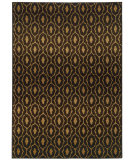 RugStudio presents Sphinx By Oriental Weavers Parker 5845b Black / Beige Machine Woven, Good Quality Area Rug
