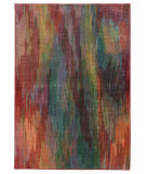 RugStudio presents PANTONE UNIVERSE Prismatic 52768 Red/ Orange Machine Woven, Good Quality Area Rug