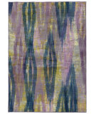 RugStudio presents PANTONE UNIVERSE Prismatic 59014 Purple/ Blue Machine Woven, Good Quality Area Rug