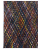 RugStudio presents PANTONE UNIVERSE Prismatic 85103 Purple/ Green Machine Woven, Good Quality Area Rug
