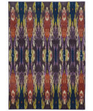 RugStudio presents Rugstudio Sample Sale 104044R Purple/ Blue Machine Woven, Good Quality Area Rug
