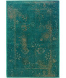 RugStudio presents Sphinx By Oriental Weavers Revival 3690d Teal Machine Woven, Good Quality Area Rug