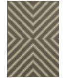 RugStudio presents Sphinx By Oriental Weavers Riviera 4589d Graphite Gray Machine Woven, Good Quality Area Rug