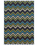 RugStudio presents Sphinx By Oriental Weavers Riviera 4593s Navy Machine Woven, Good Quality Area Rug