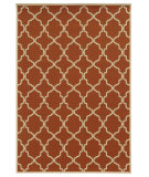 RugStudio presents Sphinx By Oriental Weavers Riviera 4770d Orange Machine Woven, Good Quality Area Rug