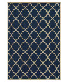 RugStudio presents Sphinx By Oriental Weavers Riviera 4770l Navy Machine Woven, Good Quality Area Rug