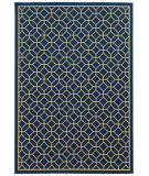 RugStudio presents Sphinx By Oriental Weavers Riviera 4771g Navy Machine Woven, Good Quality Area Rug