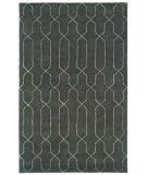 RugStudio presents Sphinx By Oriental Weavers Silhouette 48106 Graphite Gray Hand-Tufted, Good Quality Area Rug