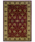RugStudio presents Sphinx By Oriental Weavers Tybee 733r6 Red Machine Woven, Good Quality Area Rug