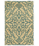 RugStudio presents Tommy Bahama Valencia 57703 Beige/Blue Woven Area Rug