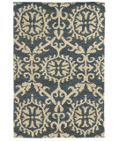 RugStudio presents Tommy Bahama Valencia 57704 Blue/Beige Woven Area Rug