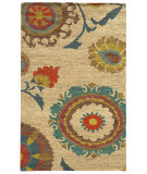RugStudio presents Tommy Bahama Valencia 57710 Beige Woven Area Rug