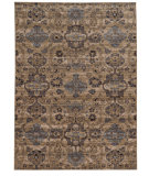 RugStudio presents Tommy Bahama Vintage 4929y Tan/Mauve Machine Woven, Good Quality Area Rug
