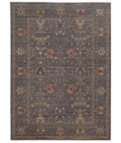 RugStudio presents Tommy Bahama Vintage 534k2 Steel Blue Machine Woven, Good Quality Area Rug
