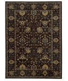 RugStudio presents Tommy Bahama Vintage 534n5 Onyx Black Machine Woven, Good Quality Area Rug