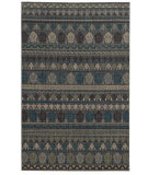 RugStudio presents Tommy Bahama Vintage 591e2 Steel Blue Machine Woven, Good Quality Area Rug