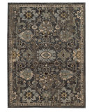 RugStudio presents Tommy Bahama Vintage 668n2 Slate Blue Machine Woven, Good Quality Area Rug