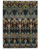 RugStudio presents Tommy Bahama Vintage 8122n Tribal Blue Machine Woven, Good Quality Area Rug