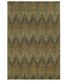 RugStudio presents Tommy Bahama Voyage 508x0 Moss Green Machine Woven, Good Quality Area Rug