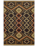 RugStudio presents Tommy Bahama Voyage 5505k Black Machine Woven, Good Quality Area Rug