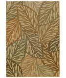 RugStudio presents Tommy Bahama Voyage 5507w Botanic Green Machine Woven, Good Quality Area Rug