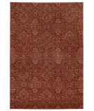 RugStudio presents Tommy Bahama Voyage 091r0 Red Machine Woven, Good Quality Area Rug