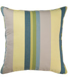 RugStudio presents Pine Cone Hill Pillow April Stripe