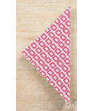 RugStudio presents Pine Cone Hill Napkins Chickles Fuschia