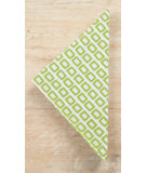 RugStudio presents Pine Cone Hill Napkins Chickles Green
