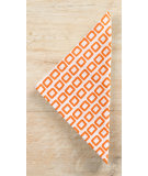 RugStudio presents Pine Cone Hill Napkins Chickles Orange