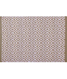 RugStudio presents Pine Cone Hill Placemat Diamond Khaki/White