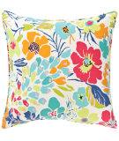 RugStudio presents Pine Cone Hill Pillow Hot House Floral Summer