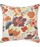 RugStudio presents Pine Cone Hill Pillow Hot House Floral Fall