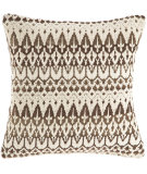 RugStudio presents Pine Cone Hill Pillow Ila Chocolate