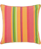 RugStudio presents Pine Cone Hill Pillow July Stripe