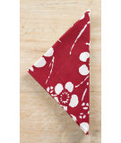 RugStudio presents Pine Cone Hill Napkins Kiyoko Red