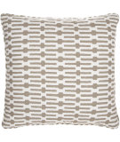 RugStudio presents Pine Cone Hill Pillow Links Taupe