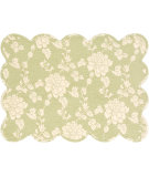 RugStudio presents Pine Cone Hill Placemat Madeline Sage