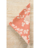 RugStudio presents Pine Cone Hill Napkins Madeline Terracotta